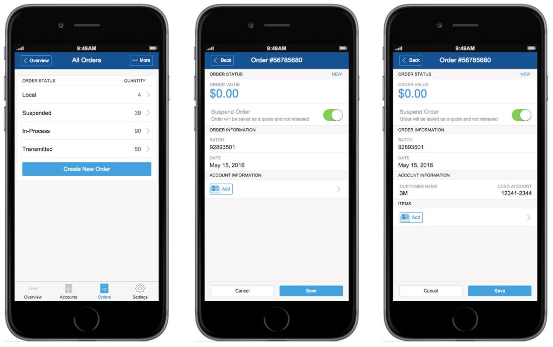 IOS Mobile Prototype with iRise